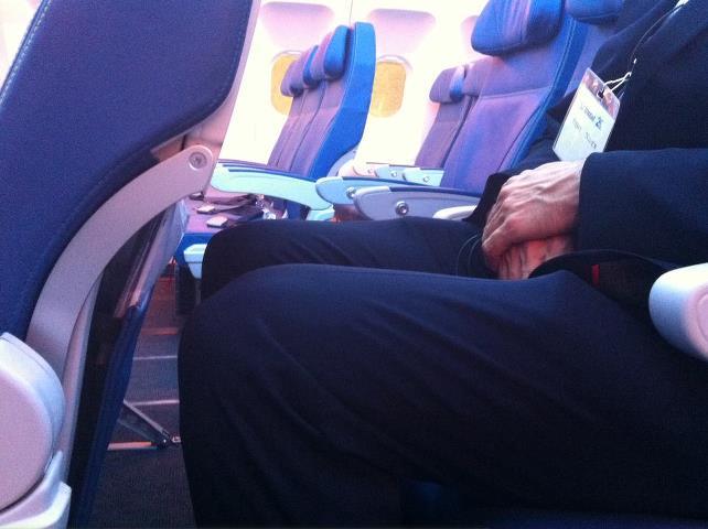 Air Transat A330 Cabin: Legroom