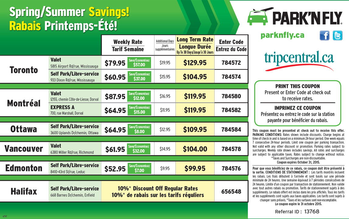 Discount coupons for oakland airport parking