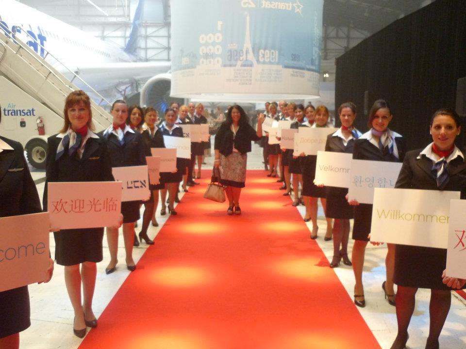 Air Transat A330 cabin redesign