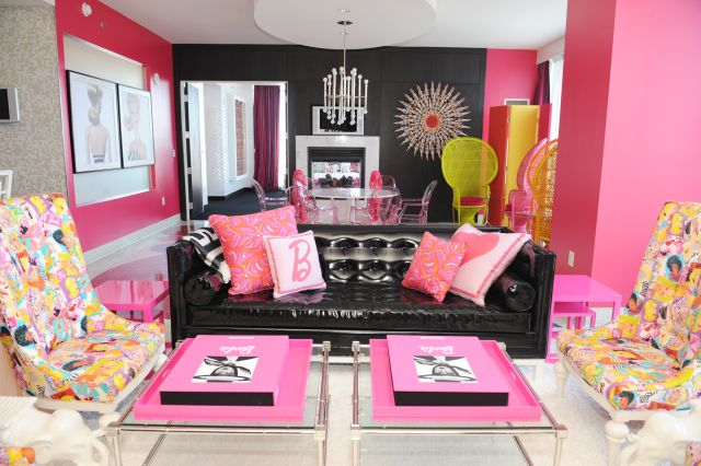 Palms Casino Resort- Barbie Suite
