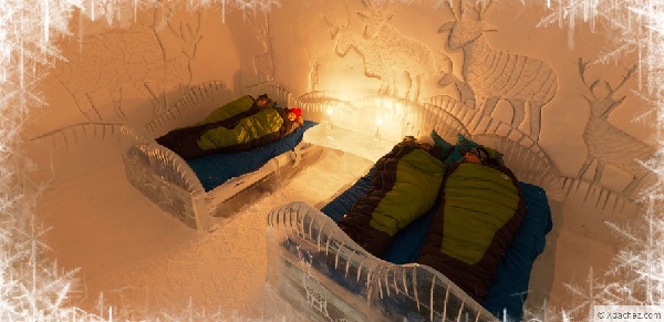 warming up to the idea of ice hotels trip sense. Black Bedroom Furniture Sets. Home Design Ideas