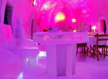 Ice Hotel, Balea Lake Romania