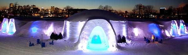 Snow Village Canada, Montreal