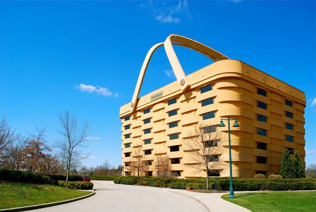 Longaberger Building Ohio
