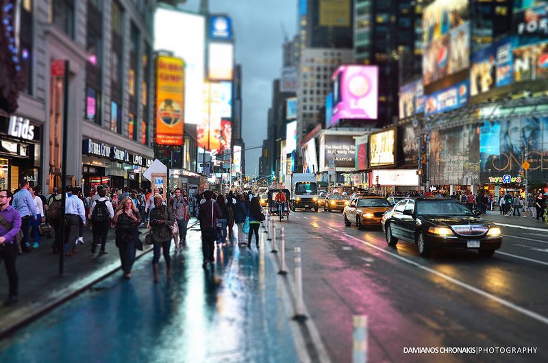 Times Square. Photo by Damianos Chronakis