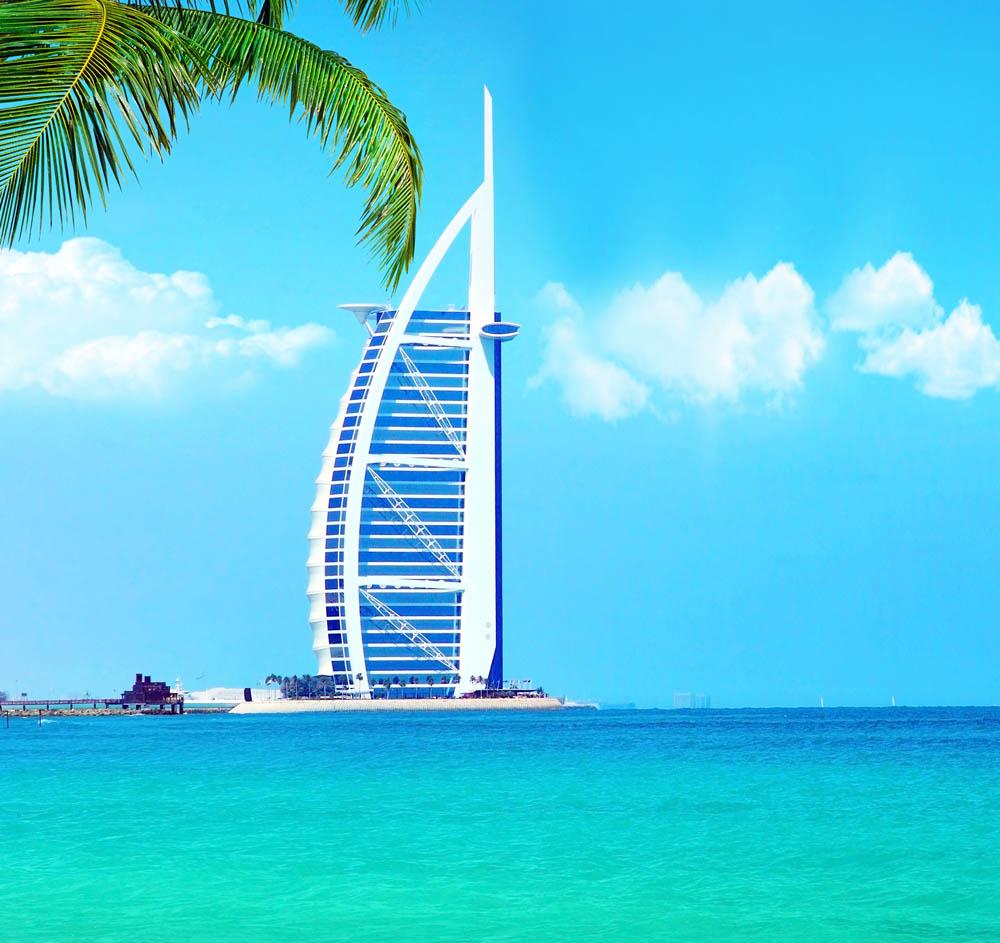 Burj Al Arab Hotel on Jumeirah Beach