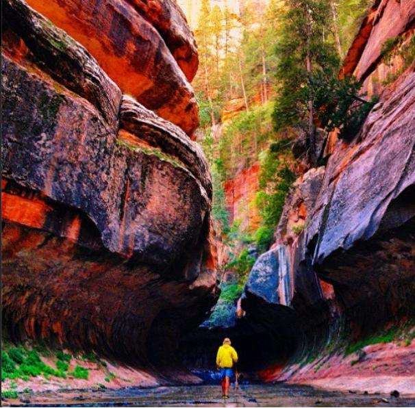 """#MatadorN @chrisburkard is exploring the #GrandCanyon. Does this hike look familiar to anyone? #USA #hiking #adventure #photography #travel #exploring #hike #outdoors #nature"""