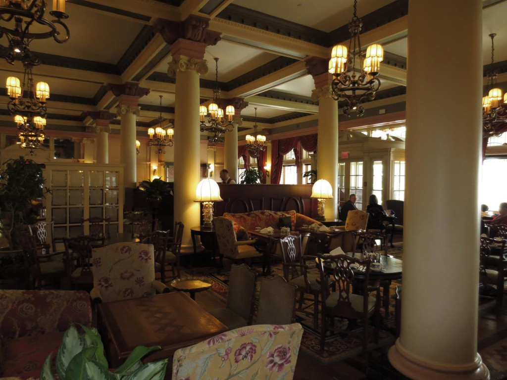 The Tea Room at the Empress Hotel, Victoria