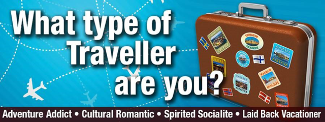QUIZ: What type of traveller are you?