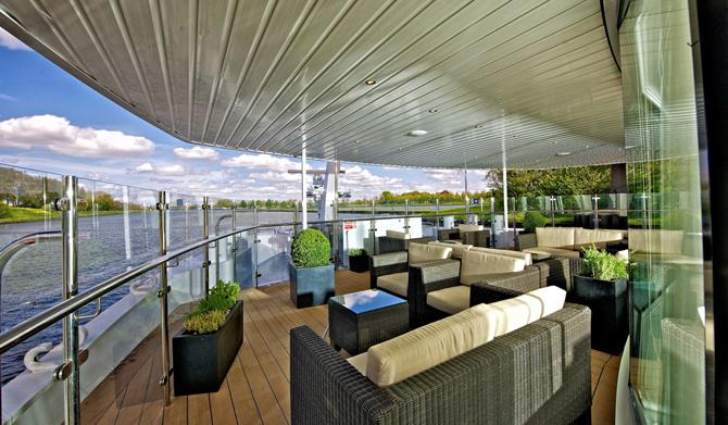 Observation Lounge, Avalon Waterways