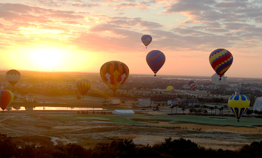 Experience Hot Air Balloning in Kissimmee