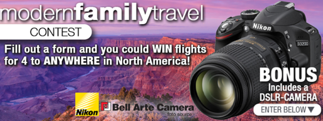 Picture This: 4 Flights + Nikon DSLR Giveaway with tripcentral.ca