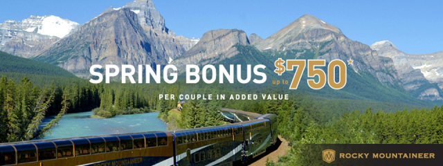 Discover the Extraordinary on the Rocky Mountaineer