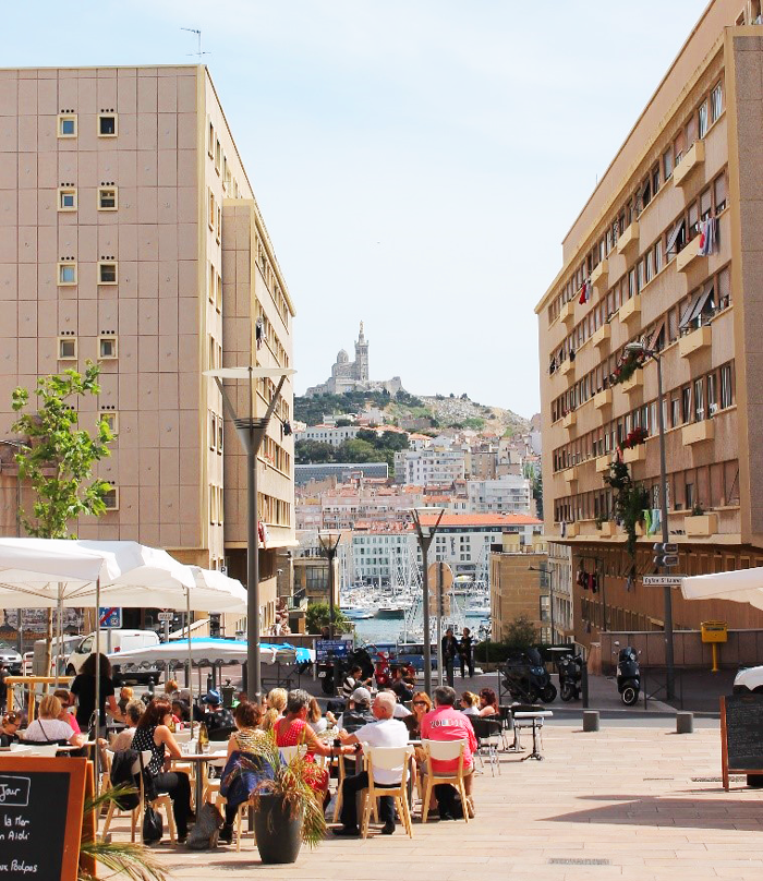 """The Notre Dam de la Gard Basilica stands high above the city of Marseille. Take the """"Little Train"""" from old port to the top of the Basilica and see the city from high above."""