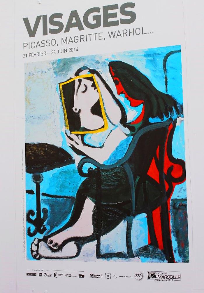 Visages: Picasso, Magritte, Warhol