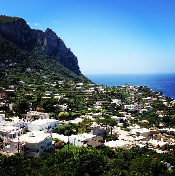 View in Capri