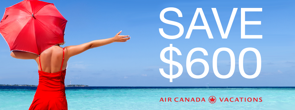 Why Book with Air Canada Vacations? It's Simple!
