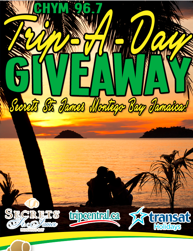 CHYM Trip-A-Day Giveaway!
