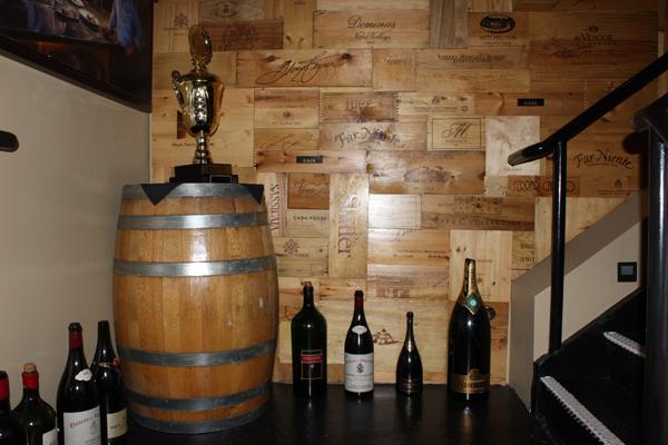 Listel Hotel Cellar