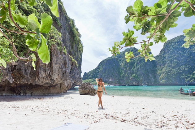 Adding Maya Bay to your must-see list for 2015 and best beaches list won't be a disappointment: sheltered by rock cliffs on three sides, Maya Bay has several beaches, some only available at low-tide