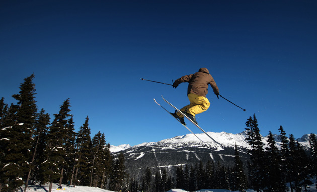 Retrace the steps of 2010 Olympians and ski at the Whistler Blackcomb Mountains, voted the best ski resort in North America.