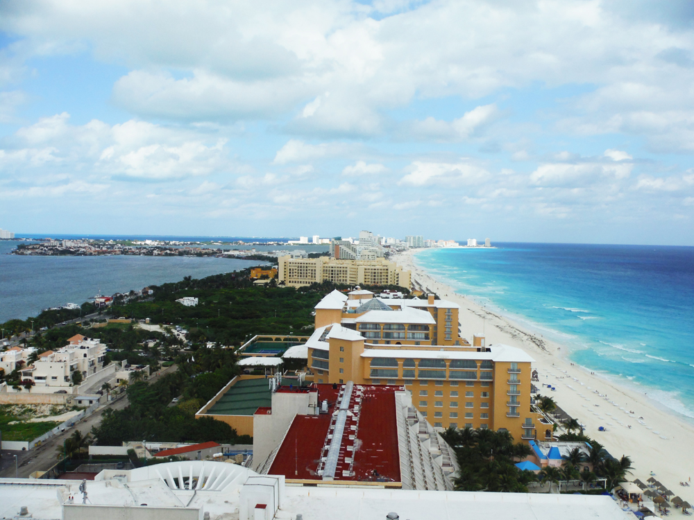 Cancun from the ME