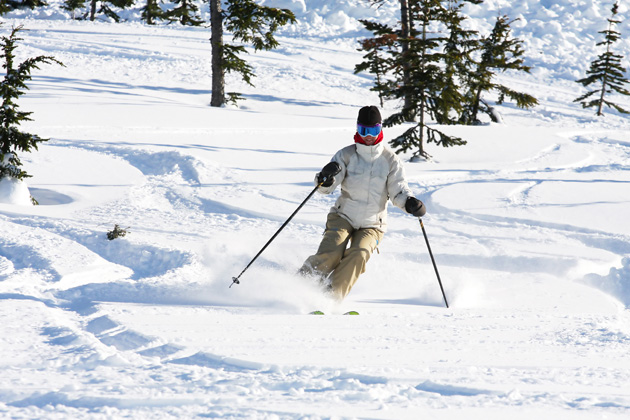 Ski some of the best ski resorts in Canada including Kicking Horse Mountain Range, nestled in the Rockies.