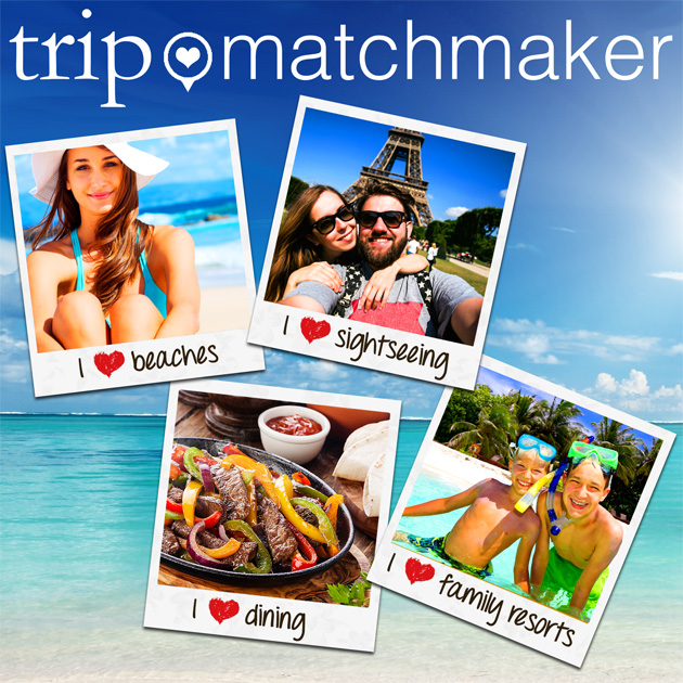 trip matchmaker allows you to find vacations matched to your preferences.