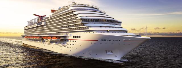 NEW: Carnival VISTA to set sail in 2016