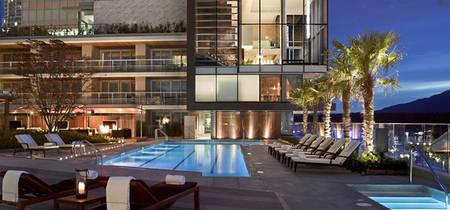 The Fairmont Pacific Rim is one of the best hotels in the world with luxury accommodations and stunning views.
