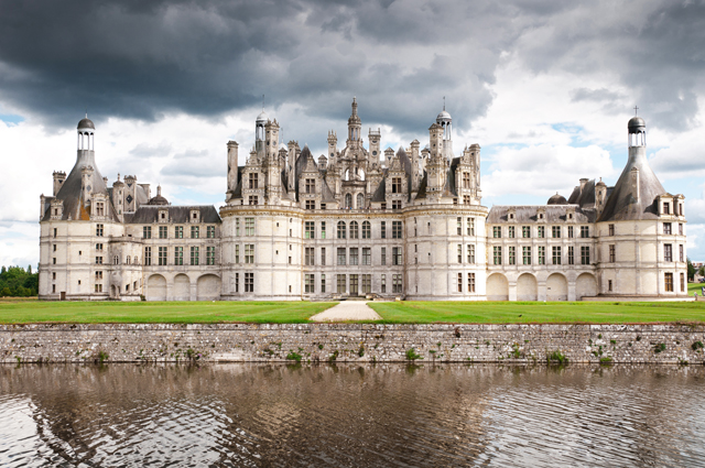 One of the castles of Europe that needs to be on your must-see list is the Chateau de Chambord, or Chambord Castle, for its stunning architecture.