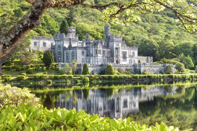 Home to nuns, visit Kylemore Abbey in Ireland on your next European vacation.
