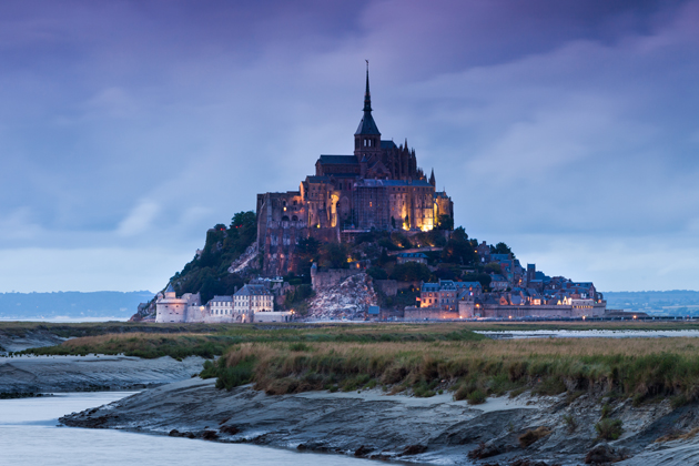 A trip to France isn't complete without visiting Mont Saint Michel, one of the most beautiful castles of Europe.