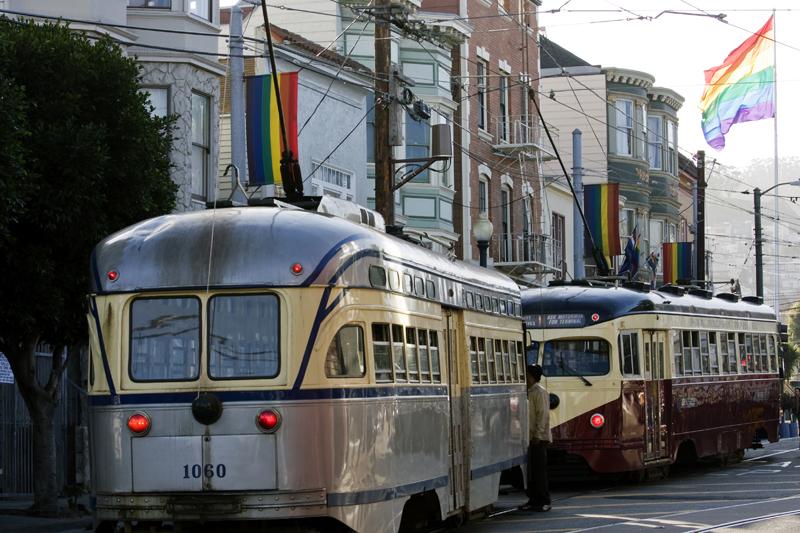 Tram in The Castro