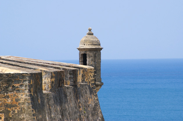 Visit Old San Juan Puerto Rico and experience the area's colonial history with fortresses.