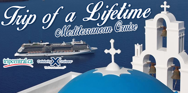 Looking to see Italy, Greece, and Turkey? This travel contest is for you. Enter to win an Eastern Mediterranean cruise.
