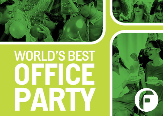 "Win the World's Best Office Party and a trip for 2 to Mexico with FRESHfm travel contest ""World's Best Office Party"""