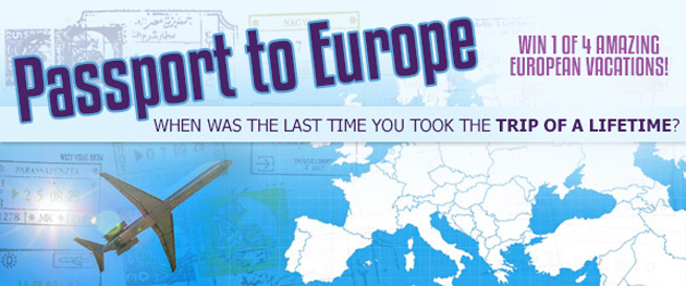 KLite's travel contest wants to send you to one of Europe's top destinations.