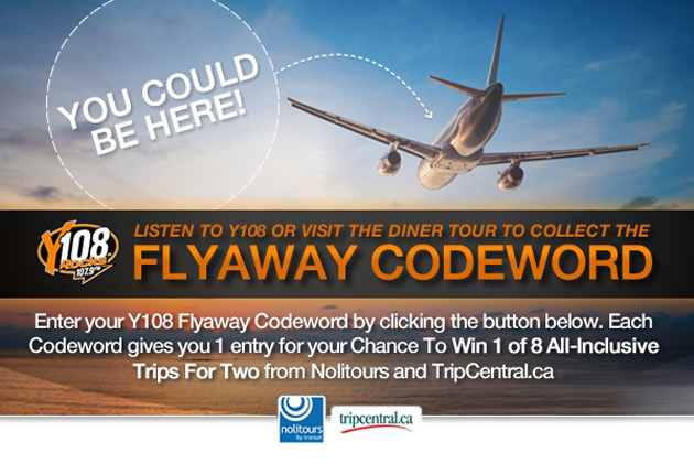 Hamilton resident looking for a travel contest? Enter the Y108 Diner Tour for your chance to win 1 of 8 trips.