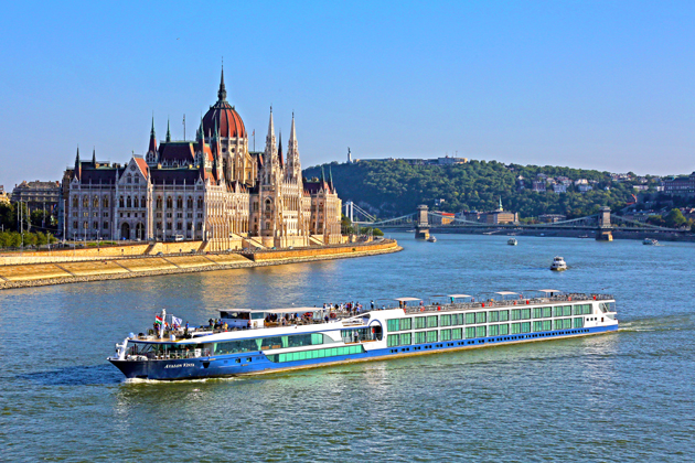 Budapest, Hungary is a great city to walk, take transit, or to visit on a river cruise.