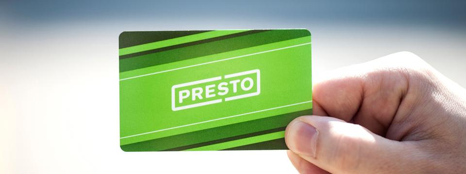 Register presto card
