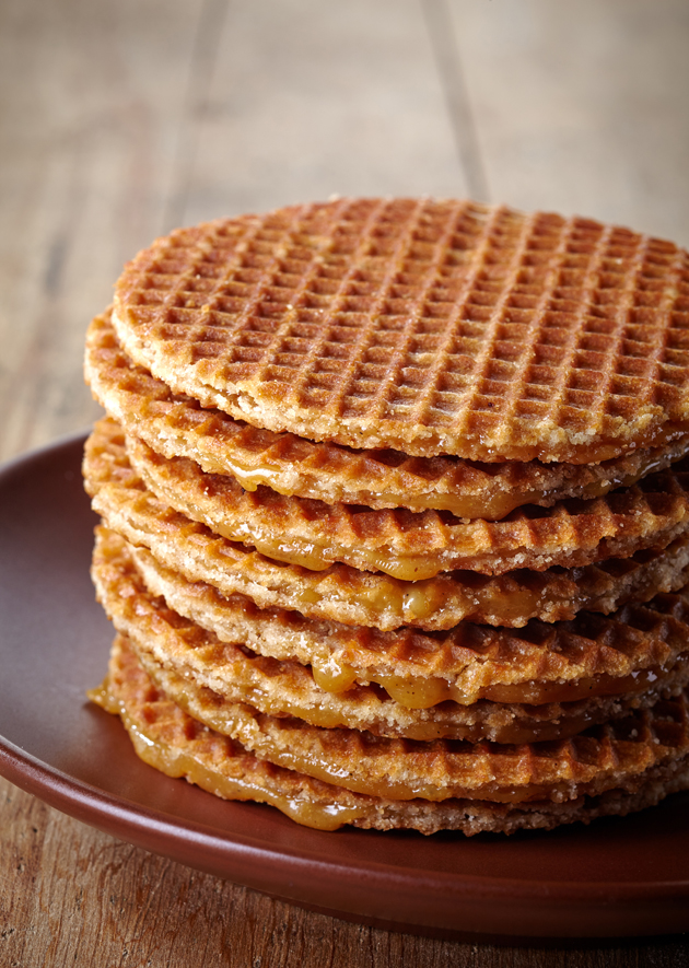 Stroopwafel from the Netherlands should be on anyone's best street food in Europe list: follow your nose and find it.
