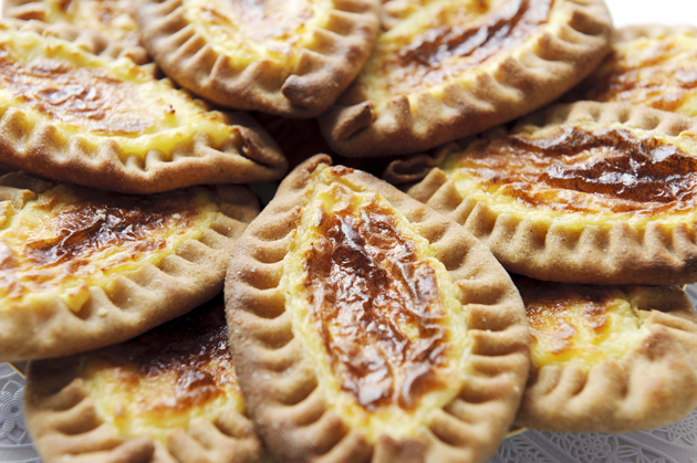 Karelian pastries are known as some of the best street food from Finland.
