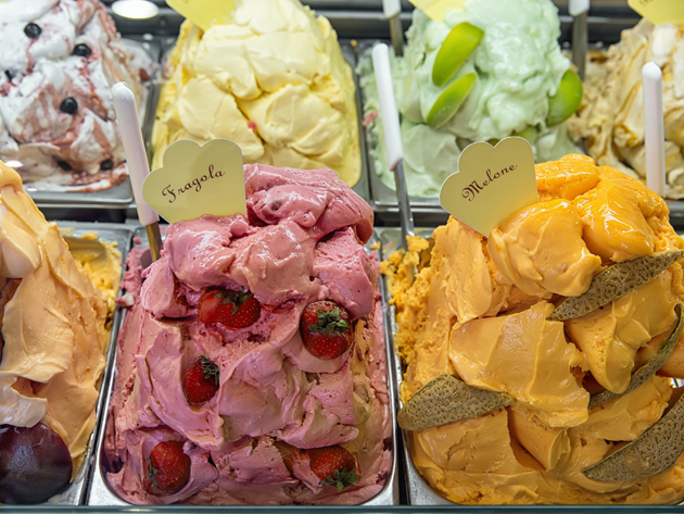 Eating gelato should be on your list of things to do in Rome; it will cool you down and give you a taste of the country