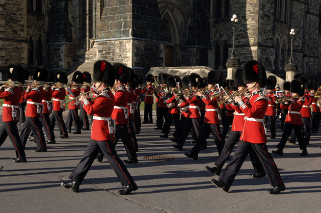 The Ceremonial Guard and their summer Fortissimo performance is a must-see for visiting downtown Ottawa