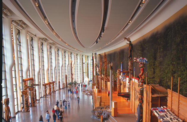 The Canadian Museum of History (Museum of Civilization) just across from downtown Ottawa in Gatineau is a must-see