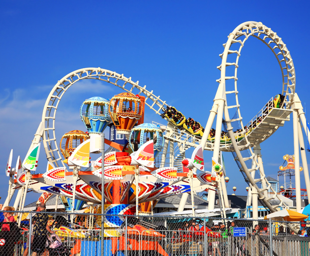 Hold on to your youth with amusement park trips for great grad gift ideas.