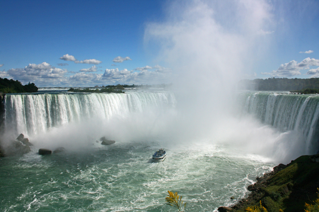 For a quick trip outside the city during your Toronto vacation, visit Niagara Falls, just 90 minutes outside the city