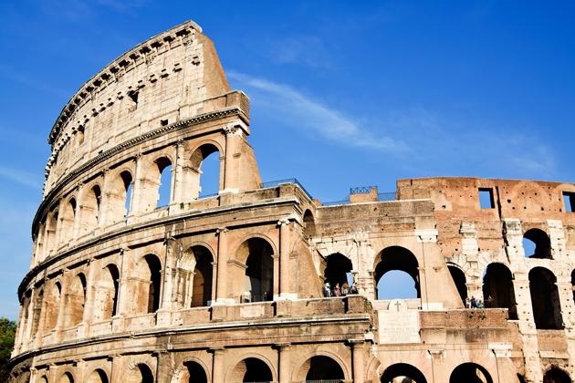 Colosseum Rome best travel movies Gladiator