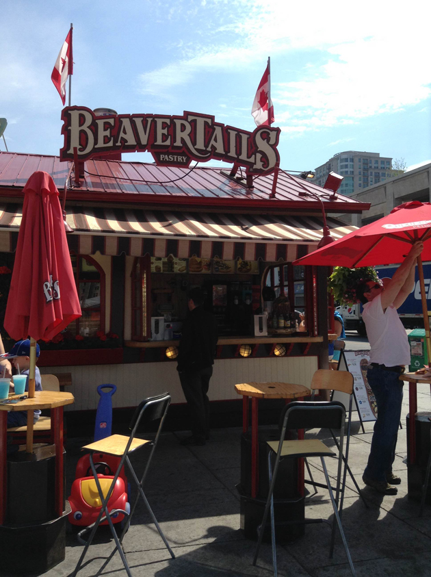 Grab a Beavertail while you stroll the ByWard Market in downtown Ottawa for shops, stalls, food, and art.